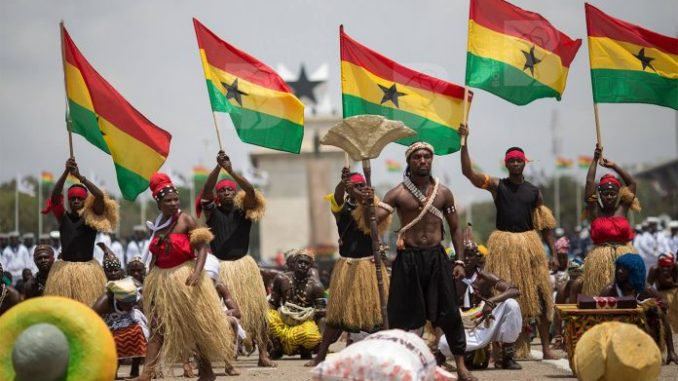 Ghana has been ranked the most peaceful country in West Africa and fourth on the continent in the latest Global Peace Index