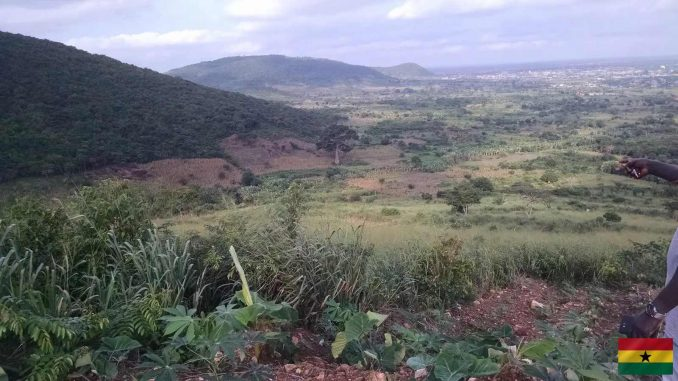 Gorgeous 90 Plots Of 28 Acres Of Mountain Land For Sale In Larteh Mountain, Eastern Region, Ghana